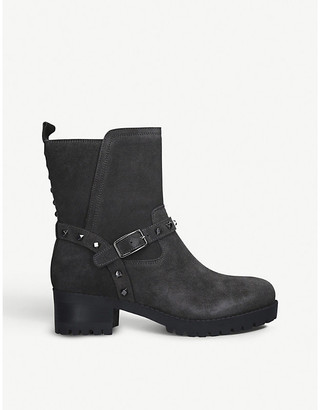 Nine West Renee suede ankle boots