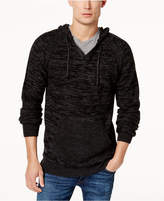 American Rag Men's Textured Hooded Sweater, Created for Macy's