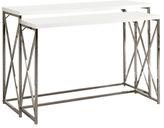 Metal Console Tables (Set of 2)