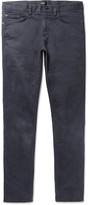 HUGO BOSS Delaware Slim-Fit Stretch-Cotton Twill Trousers