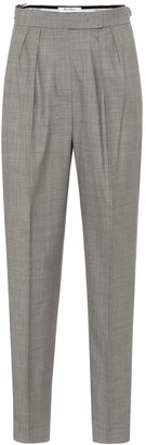 Max Mara Supremo high-rise skinny wool pants