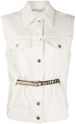 Stella McCartney sleeveless denim jacket