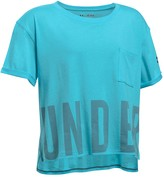 Under Armour Girls' Cropped Performance Tee