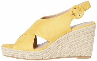 Find. Women's Crossover High Wedge Espadrille
