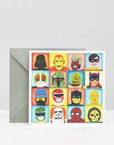 uStudio Toasted Heroes and Villains Card
