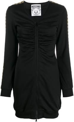 Moschino zip-up logo dress