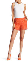 Trina Turk Embroidered Knit Lace Short