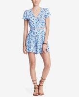 Denim & Supply Ralph Lauren Floral-Print Pleated Shorts