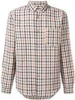 A.P.C. checked pocket shirt - men - Cotton/Linen/Flax - S