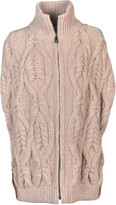 Fay Cable Knit Cardigan
