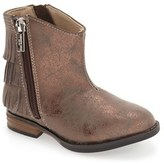Kenneth Cole New York Girl's 'Downtown' Tiered Fringe Bootie