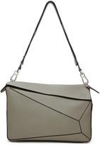 Loewe Grey Xl Puzzle Bag