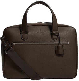 Graf Von Faber Castell Graf von Faber-Castell Leather Cashmere Briefcase