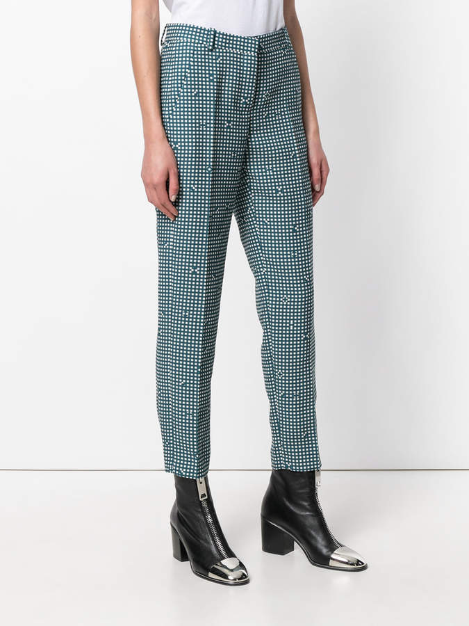 Carven checked tailored trousers