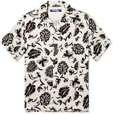 Junya Watanabe - Camp-collar Printed Woven Shirt