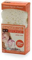 Ulta Spongeables Shower-Gel-in-a-Sponge-White Rose