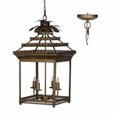 Bungalow Rose Alfano 4 - Light Lantern Rectangle Chandelier