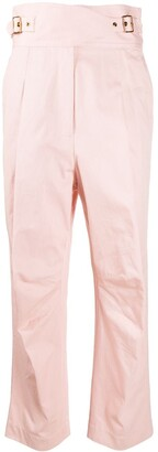 Zimmermann Straight-Leg High Rise Trousers