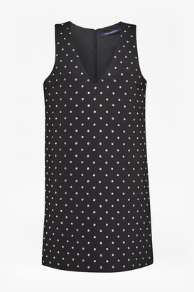 French Connection Diamond Drop Embellished Dress