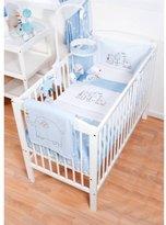 BabyCentre RED KITE Hello Ernest Cosi Cot 4 Piece Bedding Set (Blue)