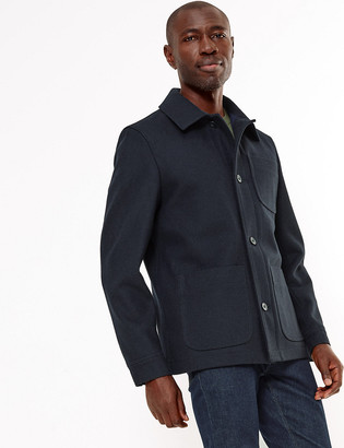 Marks and Spencer Wool Utility Jacket