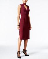 BCBGeneration Cutout Midi Sheath Dress