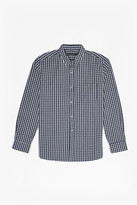 French Connection Checked And Striped Cotton Shirt