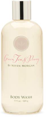 Niven Morgan Green Tea & Peony Body Wash, 11 oz.