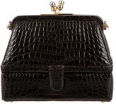 Judith Leiber Alligator Clutch