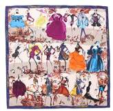 Christian Lacroix '20 Ans' Square Silk Scarf