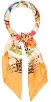 Hermes Belles Amures Silk Scarf
