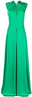 Victoria Beckham Twist Neck Gown