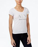 Armani Exchange Cotton Logo-Graphic T-Shirt