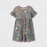 Cat & Jack Toddler Girls' A Line Dresses - Cat & Jack Heather Gray