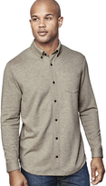 Johnston & Murphy Button-Front Knit Shirt