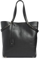 Valentino Garavani Lovestud Leather Tote - Black