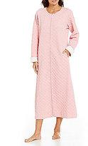 Carole Hochman Embossed Diamond-Quilted Robe