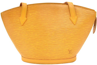 Louis Vuitton Yellow Epi Leather Saint Jacques PM Long Strap