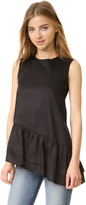 Cynthia Rowley Asymmetrical Top