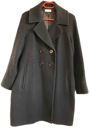 Sonia Rykiel Sonia By Black Wool Coat for Women