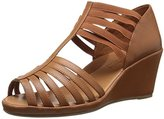 Gentle Souls Women's Lina Wedge Sandal