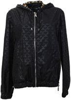 Givenchy Printed Black Techno Fabric Jacket