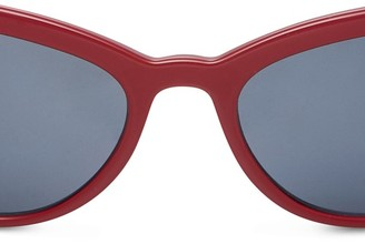 Luxottica Prada Red sunglasses