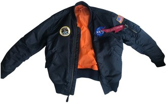 Alpha Industries Navy Jacket for Women