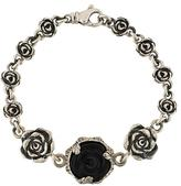 King Baby Studio carved rose motif bracelet