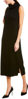 Joan Vass Silk & Cashmere-Blend Sweaterdress