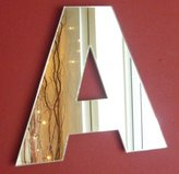 ServeWell Contemporary Letter A Wall Mirror
