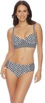 Athena Baja Geo Auriel Crop Bralette Bikini Top