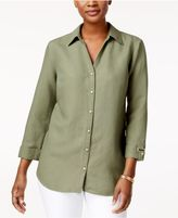 JM Collection Hardware-Detail Shirt, Created for Macy's