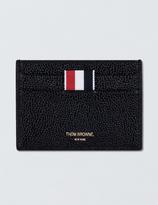 Thom Browne Pebble Grain Leather Single Card Holder